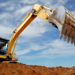 Bucket Loader Digging